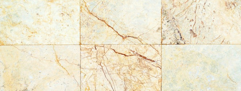 grout and glue for marble tiles on light colored marble tiling